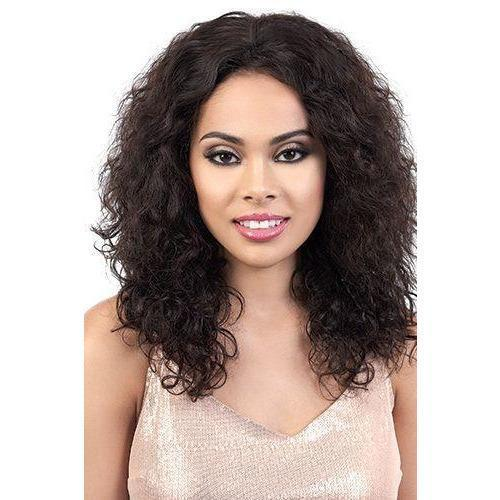 "Motown Tress 100% Persian Virgin Remy Human Hair 13"" x 2"" Swiss Lace Wig – HPL3.Elen"
