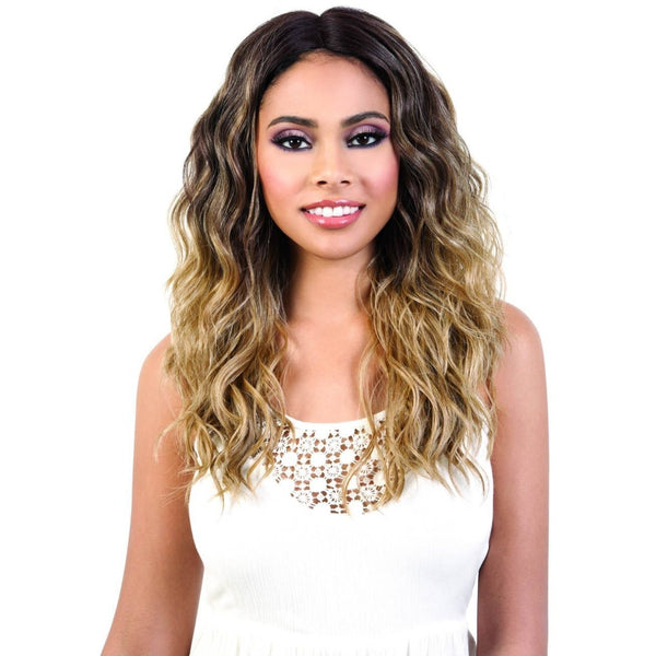 Motown Tress Deep Part Spin Part Synthetic Lace Front Wig – LDP-Spin63