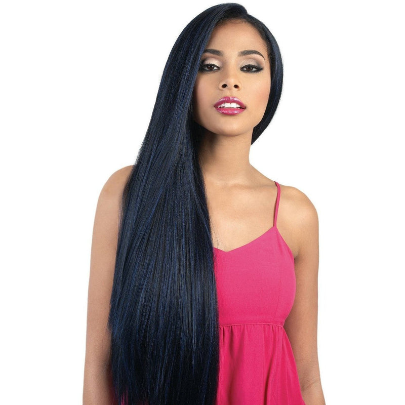 Motown Tress Human Hair Blend 360° Lace Front Wig – HB360L.Ace