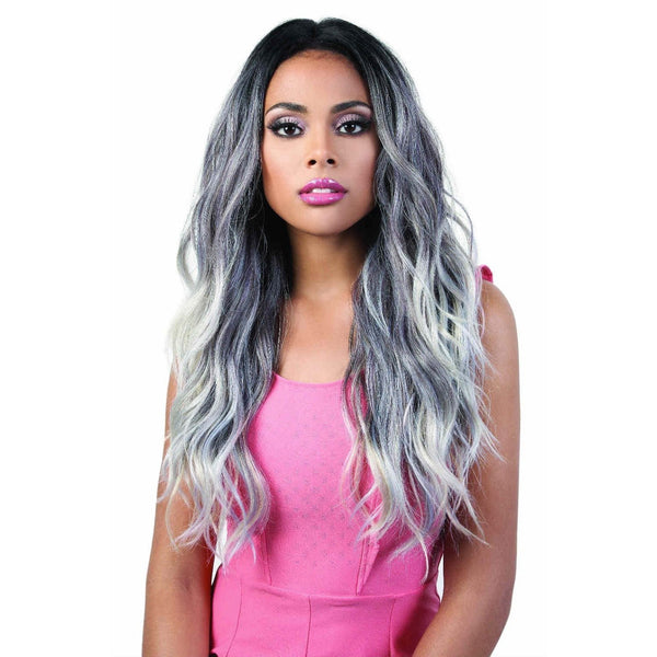 Motown Tress Human Hair Blend 360° Lace Front Wig – HB360L.Zia