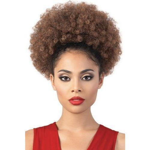 Motown Tress Synthetic PonyDo Drawstring Ponytail – PD-Afro 9