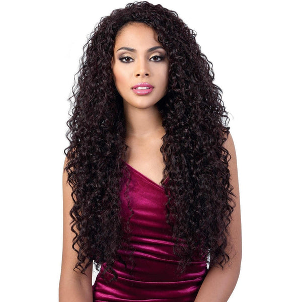 Motown Tress Synthetic Quick-N-Easy Half Wig – QE.Chloe