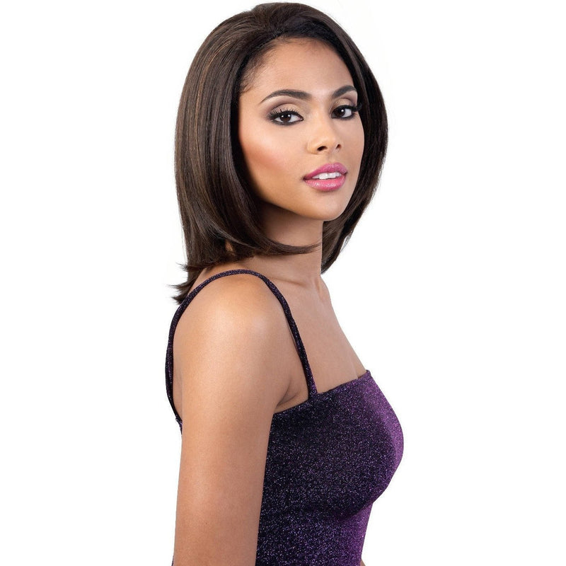 Motown Tress Synthetic Quick-N-Easy Half Wig – QE.Dash