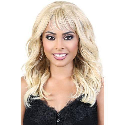 Motown Tress Synthetic Curlable Wig – Harper