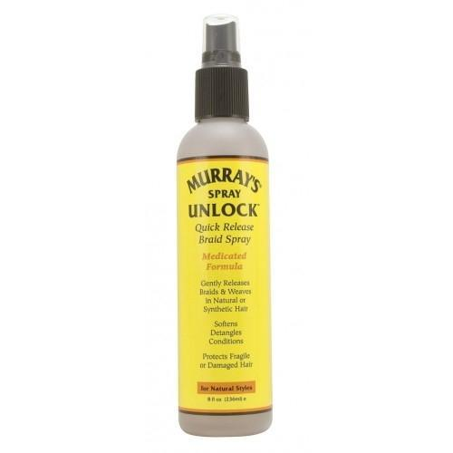 Murray's Spray Unlock Quick Release Braid Spray 8 OZ