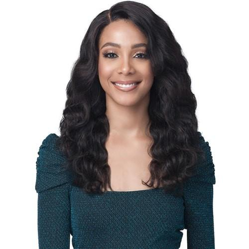 "Bobbi Boss 100% Unprocessed Virgin Remy Human Hair 13"" X 4"" Bundle Hair Lace Frontal Wig - MHLF528 Natalie"