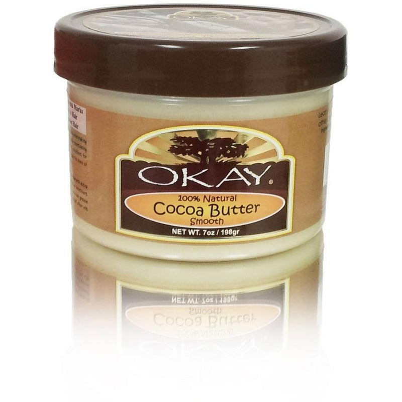 OKAY Cocoa Butter 100% Natural Smooth 7 OZ