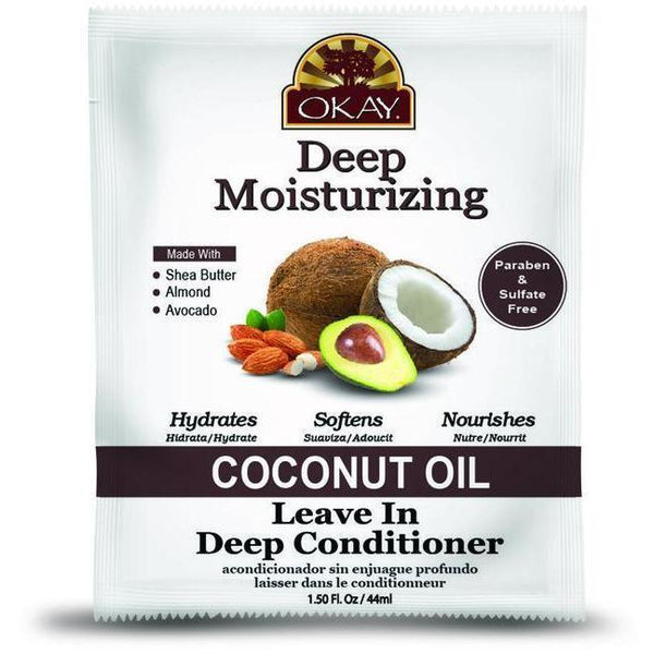 OKAY Deep Moisturizing Coconut Leave In Deep Conditioner 1.5 OZ