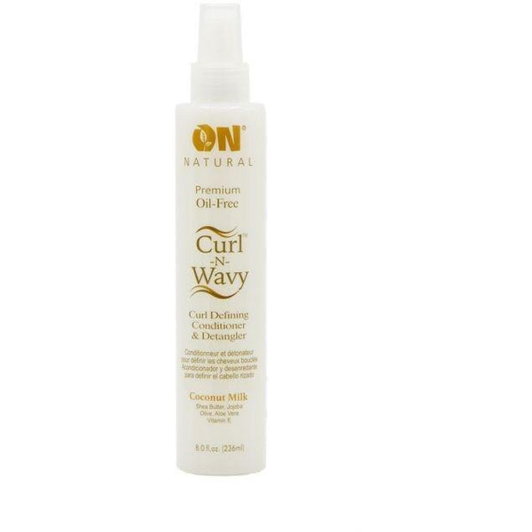 Organic Natural Curl Defining Conditioner & Detangler Coconut Milk 8 OZ