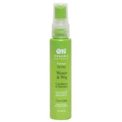 Organic Natural Wig & Weave Conditioner & Detangler Coco Lime 2 OZ