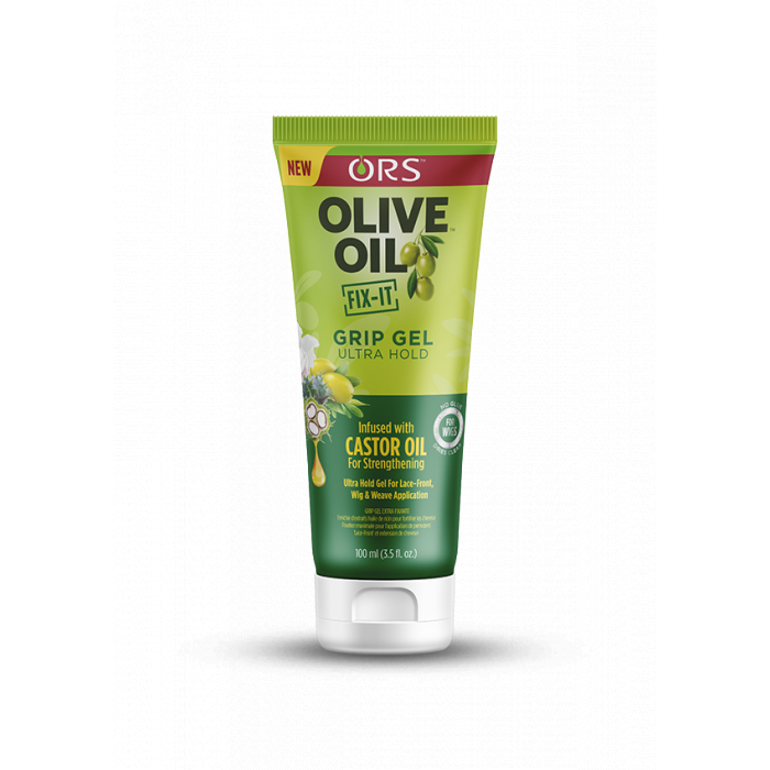 ORS Olive Oil Fix-it Super Hold Wig Grip Gel 3.5 OZ