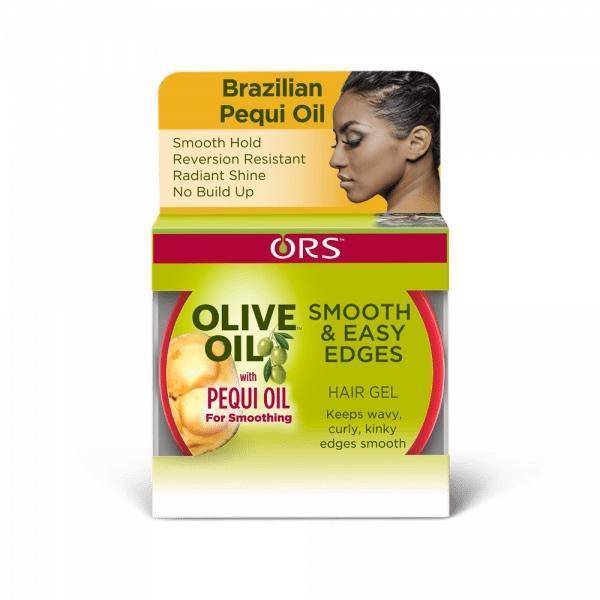 ORS Olive Oil With Pequi Oil Smooth & Easy Edges Hair Gel 2.25 OZ