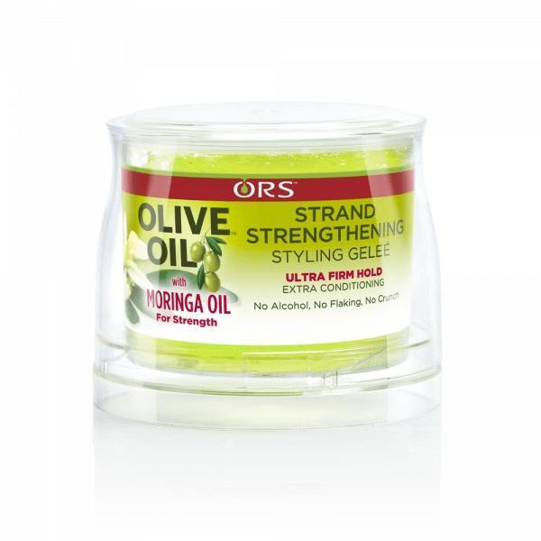 ORS Olive Oil With Moringa Oil Strand Strengthening Styling Gelee 8.5 OZ