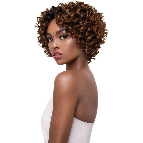 Outre Human Hair Blend Premium Purple Pack Salon Set Curls Weave – Small Roller Set 3PCS