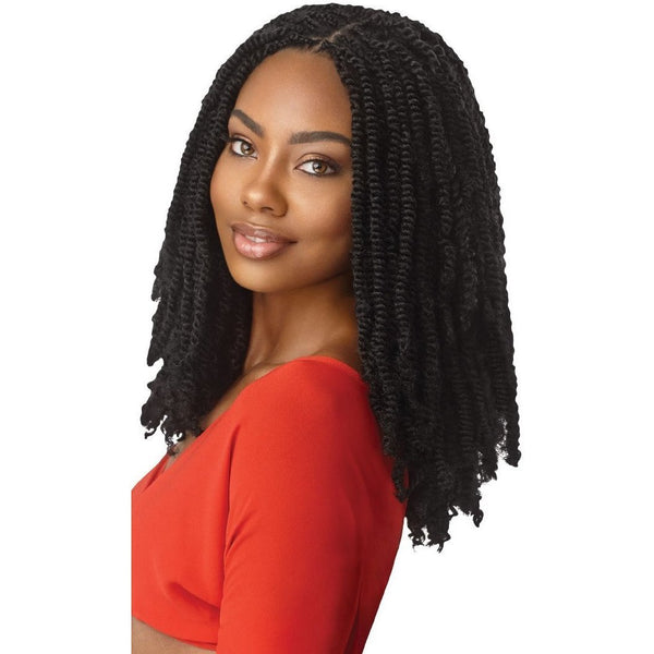 Outre X-Pression Twisted Up Synthetic Braids – Springy Afro Twist 16""