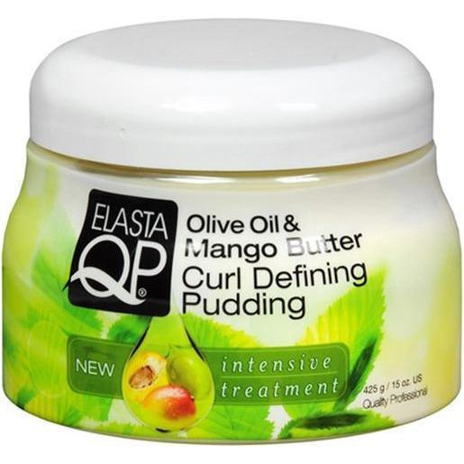 QP Olive Oil & Mango Butter Curl Defining Pudding 15 OZ