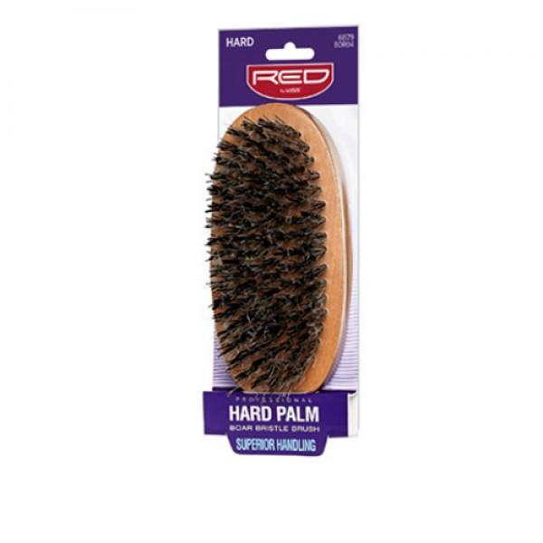 Red by Kiss Hard Palm Boar Bristle Brush