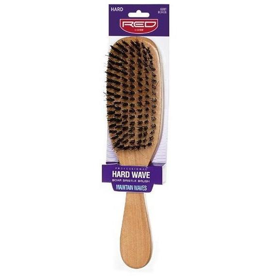 Red by Kiss Hard Wave Boar Bristle Brush #BOR06