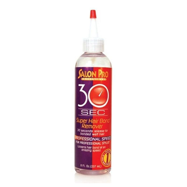 Salon Pro 30 Sec Super Hair Bond Remover 8 OZ