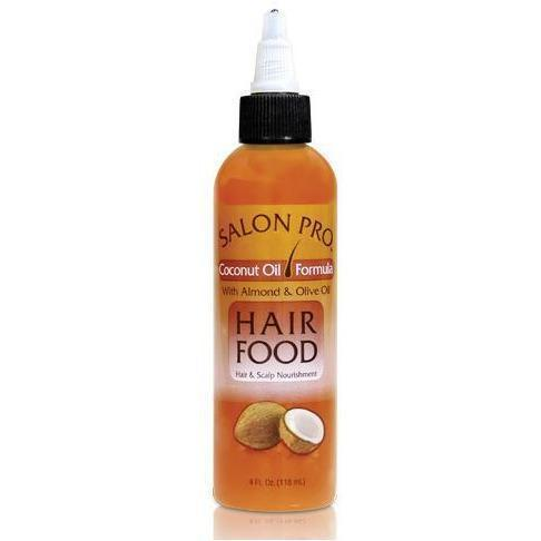 Salon Pro Hair Food Coconut Oil Formula 4 OZ