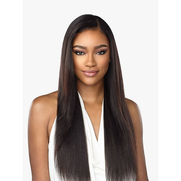 Sensationnel 100% Virgin Human Hair 360 Lace Front Wig – Straight 28""