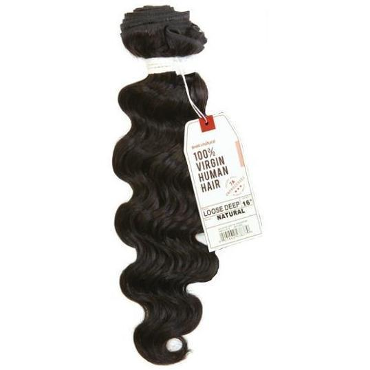 Sensationnel Bare & Natural 7A Virgin 100% Human Hair Weave – Loose Deep