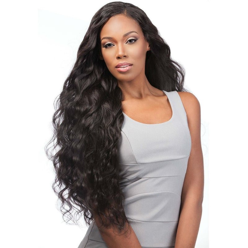 Sensationnel 100% Virgin Remi Bare & Natural Lace Closure & Bundle Weave – Body Wave