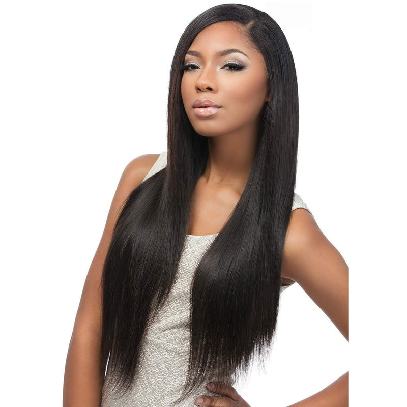 Sensationnel 100% Virgin Remi Bare & Natural Lace Closure & Bundle Weave – Straight