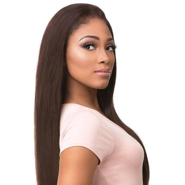 Sensationnel 100% Virgin Remi Bare & Natural Lace Frontal & Bundle Weave – Straight