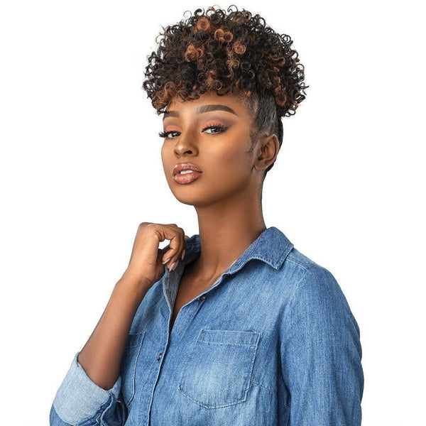 Sensationnel Curls Kinks & Co. Instant Pony Synthetic Drawstring Ponytail – Rule Breaker
