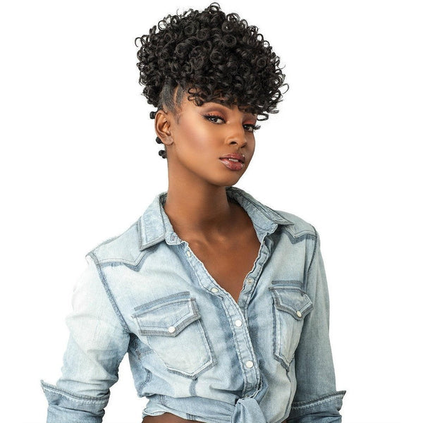 Sensationnel Curls Kinks & Co. Instant Pony Synthetic Drawstring Ponytail – Show Stopper