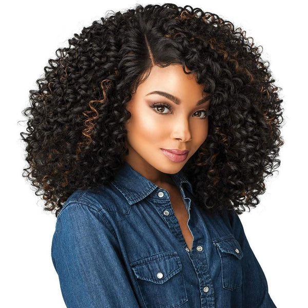 Sensationnel Synthetic Empress Curls Kinks & Co. Lace Front Edge Wig – Show Stopper
