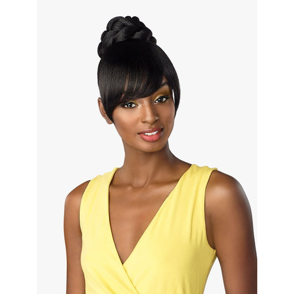 Sensationnel Instant Bun With Bangs – Gia