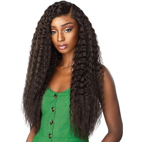 Sensationnel Boutique Bundles Human Hair Blend Bundle Weave – French Wave