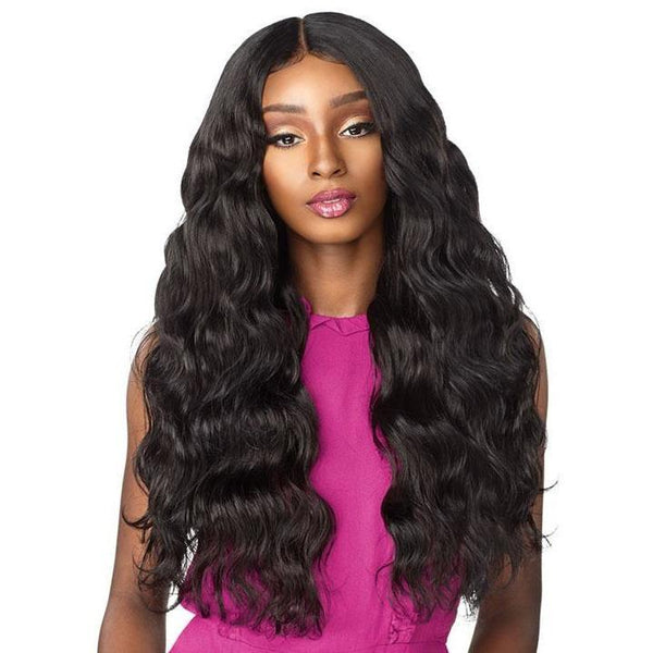 Sensationnel Boutique Bundles Human Hair Blend Bundle Weave – Loose Body