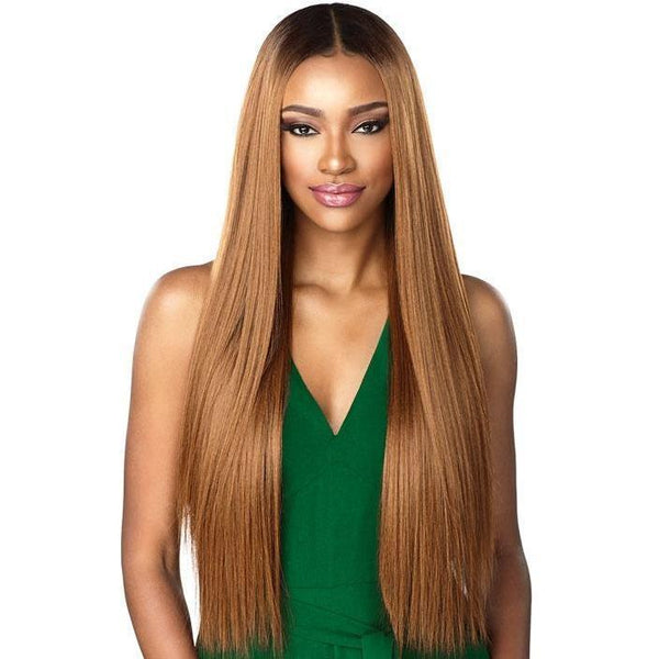 Sensationnel Boutique Bundles Human Hair Blend Bundle Weave – Straight