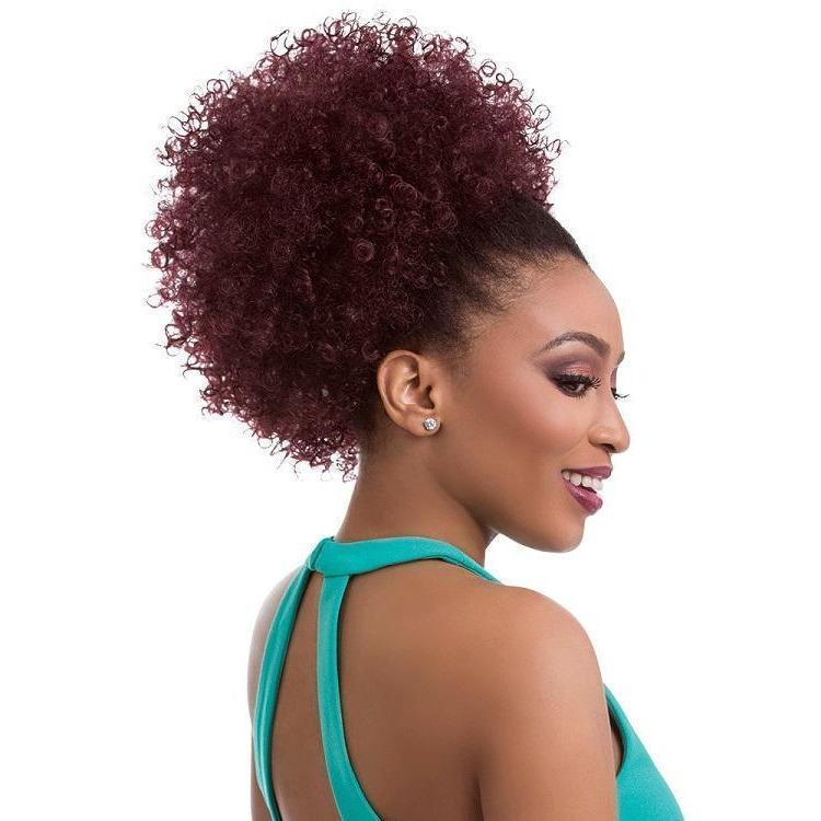 Sensationnel Synthetic Instant Pony Drawstring Ponytail – Natural Afro 10