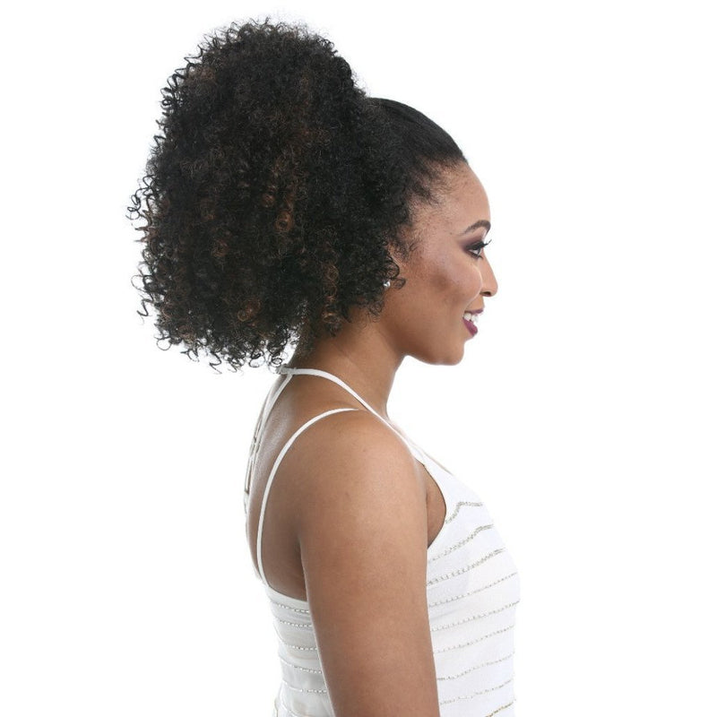 Sensationnel Synthetic Instant Pony Drawstring Ponytail – Natural Afro 18