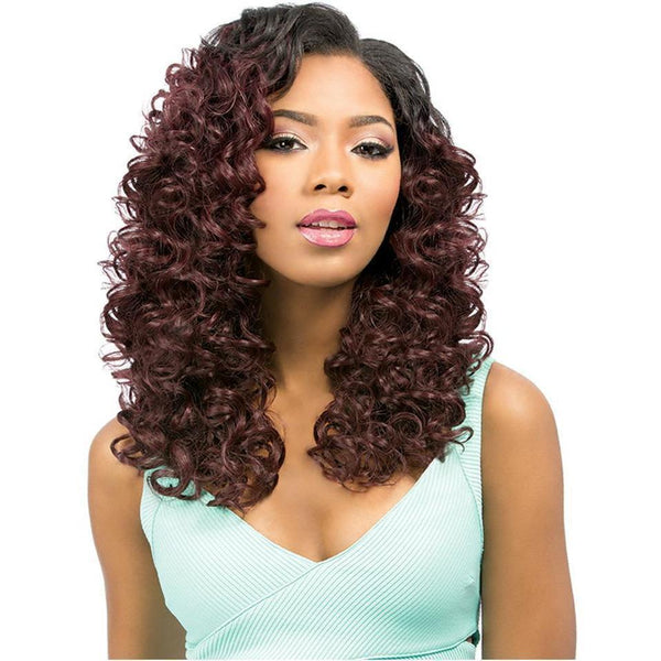Sensationnel Premium Too Multi Length Human Hair Blend Weave – Loose Deep