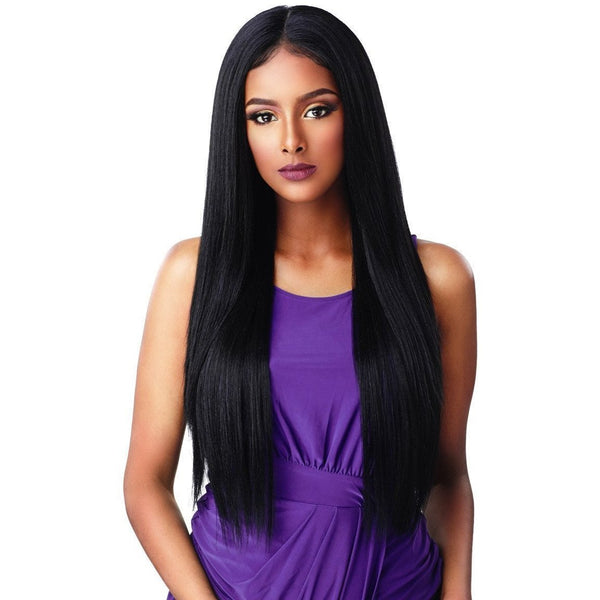 Sensationnel Synthetic Cloud 9 What Lace? Hairline Illusion Swiss Frontal Lace Wig – Janelle