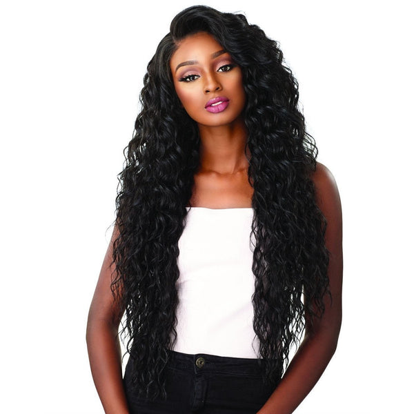Sensationnel Synthetic Cloud 9 What Lace? Hairline Illusion Swiss Frontal Lace Wig – Reyna