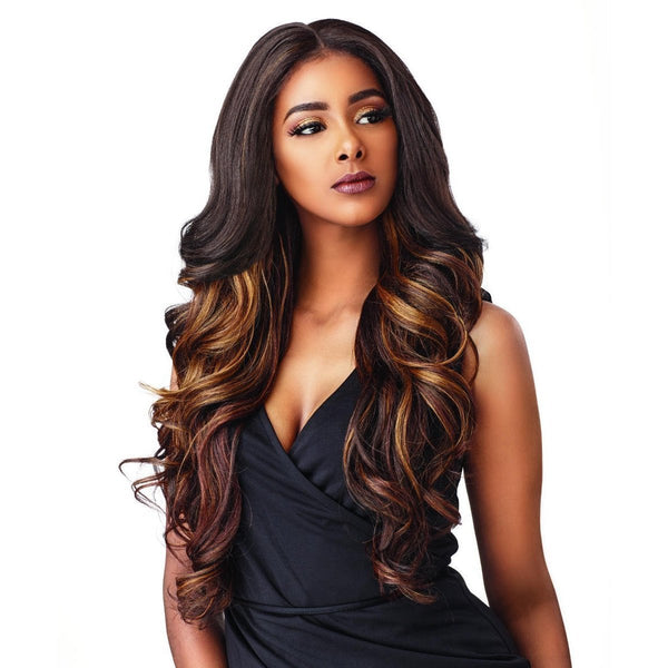 Sensationnel Synthetic Cloud 9 What Lace? Hairline Illusion Swiss Frontal Lace Wig – Solana