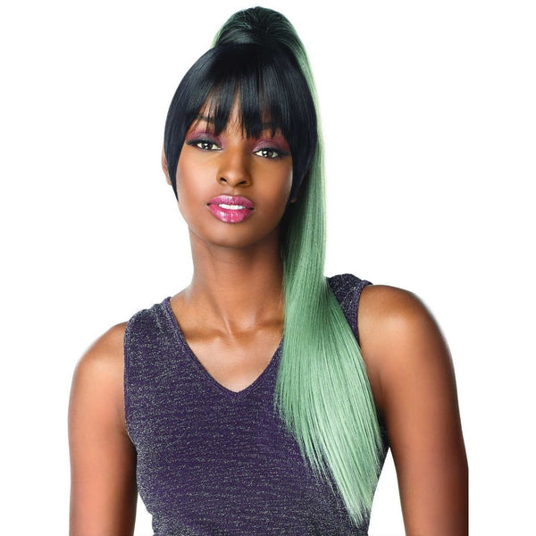 Sensationnel Instant Pony Synthetic Bang & Ponytail – Cami 24""
