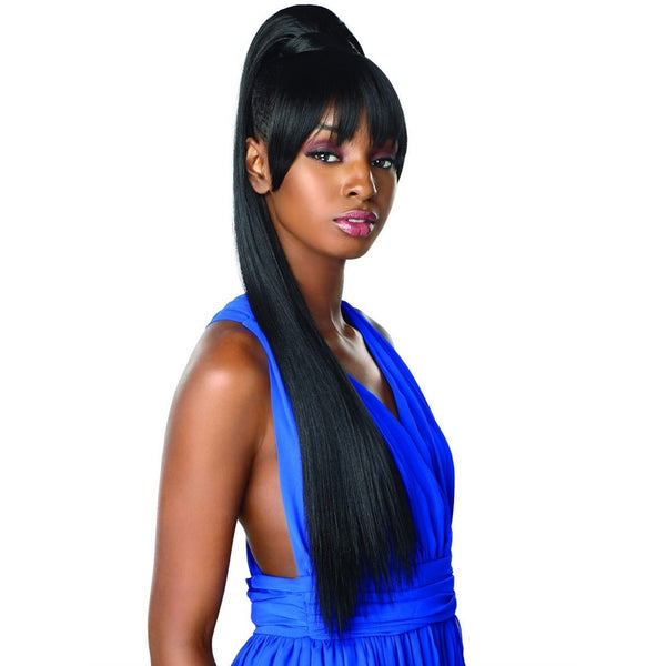 Sensationnel Instant Pony Synthetic Bang & Ponytail – Cami 30""