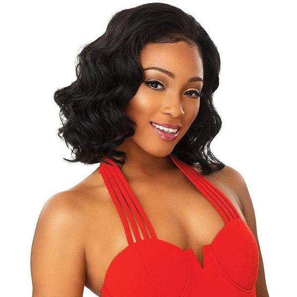 Sensationnel Synthetic Instant Weave Half Wig – Trina