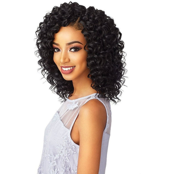 Sensationnel Lulutress Pre-Looped Synthetic Braids – 2X Deep Twist 8""