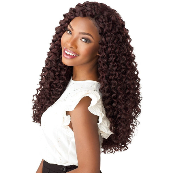 Sensationnel Lulutress Synthetic Braids – Beach Curl 18""