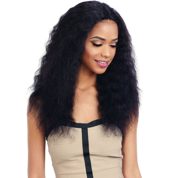 Shake-N-Go Naked Nature Wet & Wavy Lace Deep Part 100% Human Hair Wig – Deep Wave