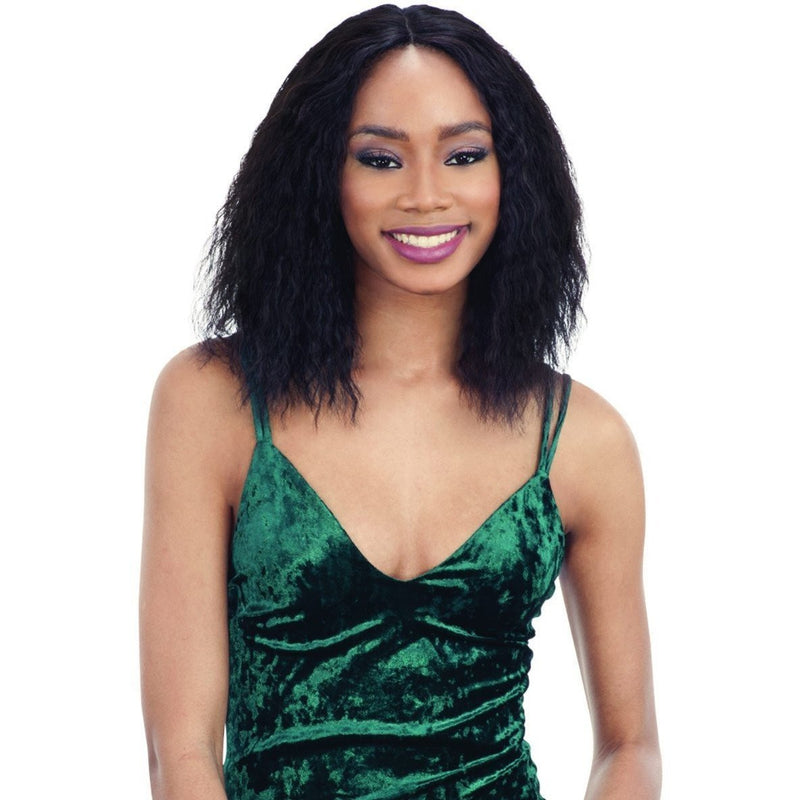 Shake-N-Go Naked Brazilian Natural 100% Human Hair Lace Front Wig – Isabelle