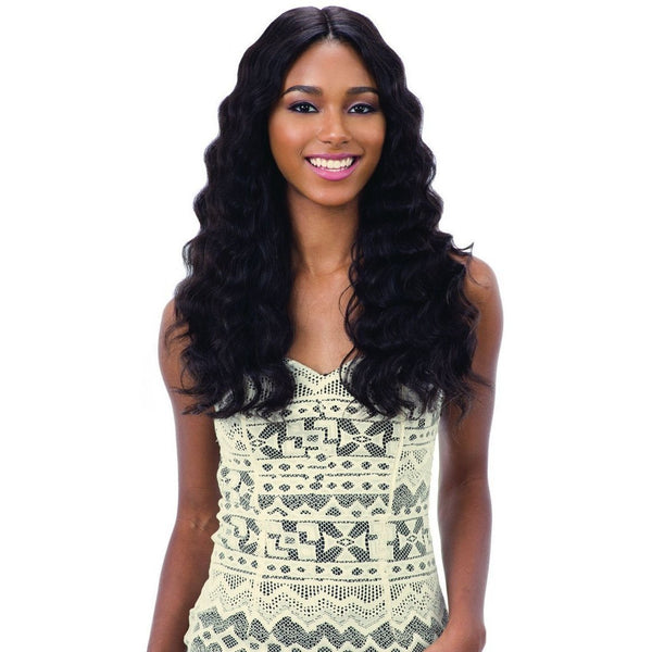 Shake-N-Go 100% Human Hair Naked Brazilian Natural Frontal Lace Wig – Natural 301